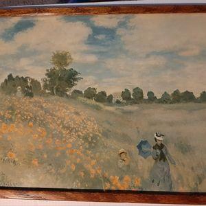 """Claude Monet/Vintage Artwork """"Wild Poppies.."""""""